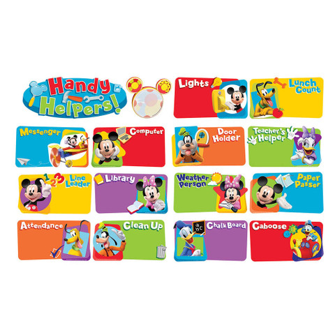 Mickey Mouse Clubhouse® Handy Helpers Job Chart Mini Bulletin Board Set