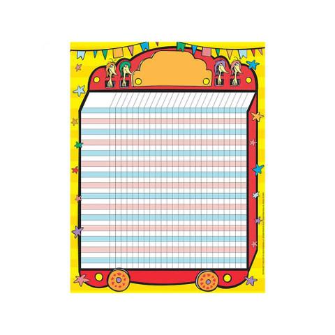 Dr. Seuss™ If I Ran the Circus Chart Set