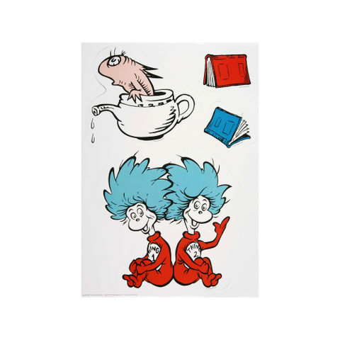 Cat in the Hat™ Large Characters Bulletin Board Set