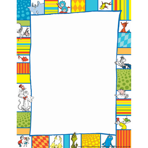 Dr. Seuss™ Shapes Computer Paper