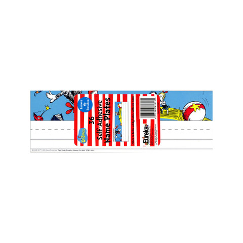 Cat in the Hat™ Self-Adhesive Name Plates