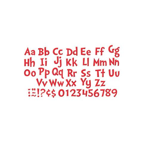 Dr. Seuss™ Red Deco Letters