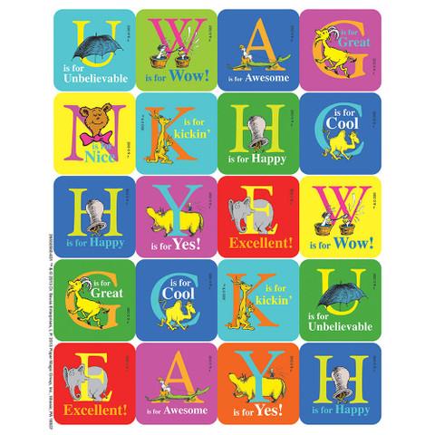 Dr. Seuss™ ABC Theme Stickers