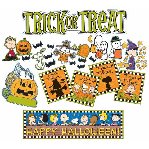 Peanuts® Halloween Mini Bulletin Board Set