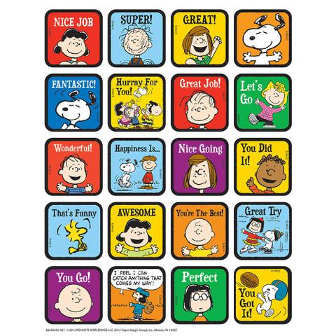 Peanuts® Motivational Theme Stickers