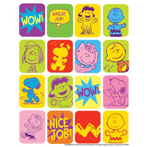 Peanuts® Motivational Stickers