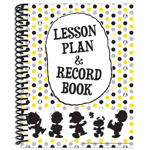 Peanuts® Touch of Class Lesson Plan Book