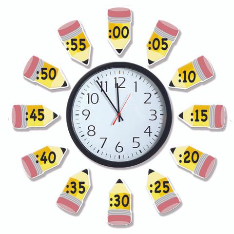 Telling Time Bulletin Board Set