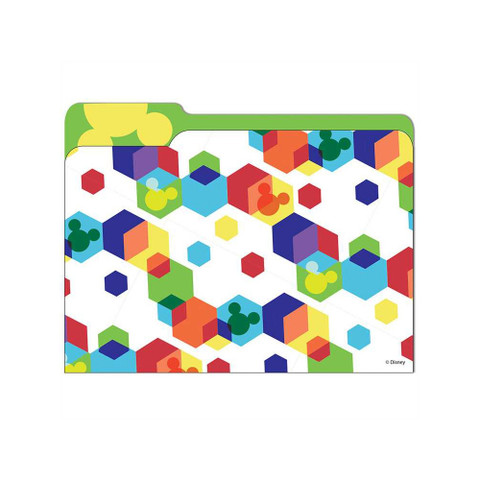 Geo Mickey® File Folders