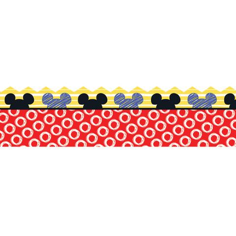 Mickey® Color Pop! Peeking Head Extra Wide Deco Trim
