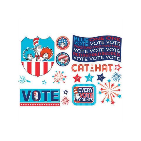Cat in the Hat™ for President 2-Sided Deco Kit