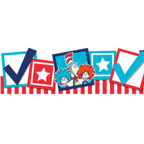 Cat in the Hat™ for President Deco Trim