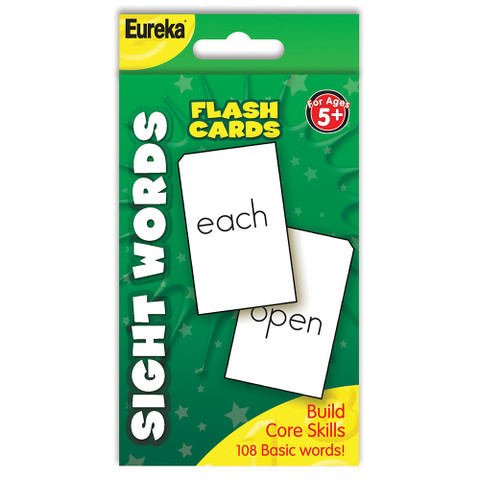 Numbers Sight Words Flashcards