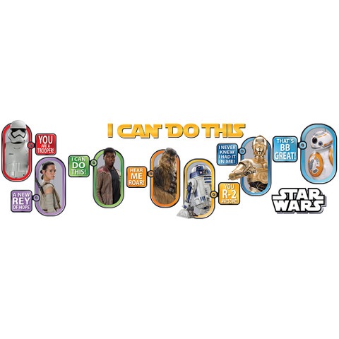 Star Wars™ I Can Do This Bulletin Board Set