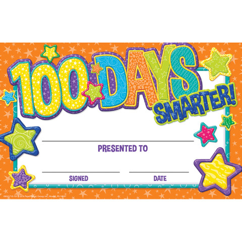 Color My World 100 Days Recognition Award