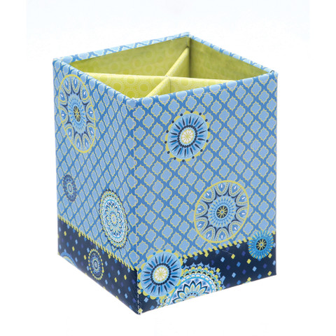 Blue Harmony Pen and Pencil Holder