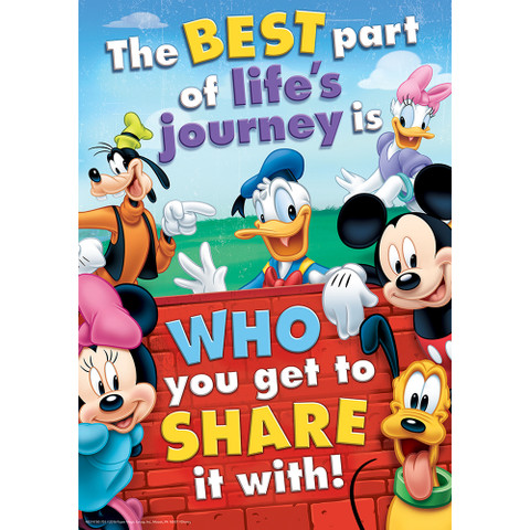 Mickey Mouse Clubhouse® Friendship Classroom Poster