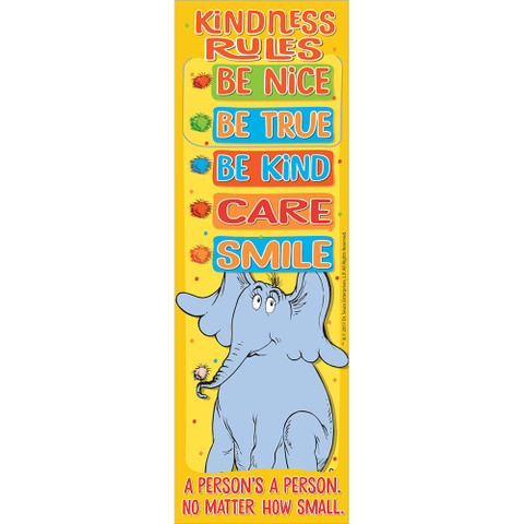 Horton Hears A Who™ Kindness Rules Bookmarks
