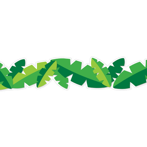 You Can Toucan Leaves Deco Trim®