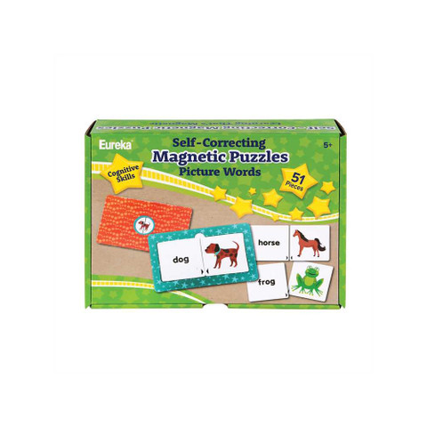 Self-Correcting Magnetic Puzzle