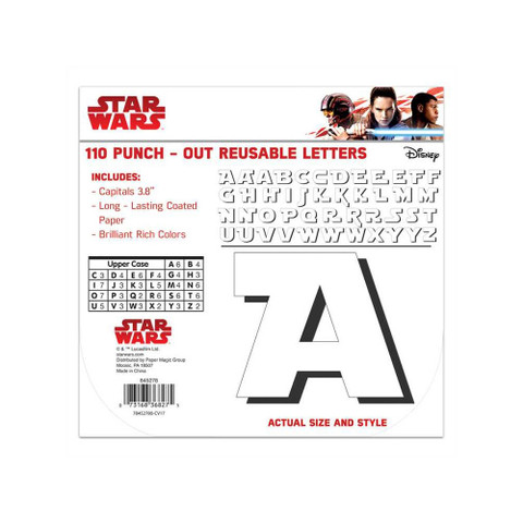 Star Wars™ Super Troopers Deco Letters