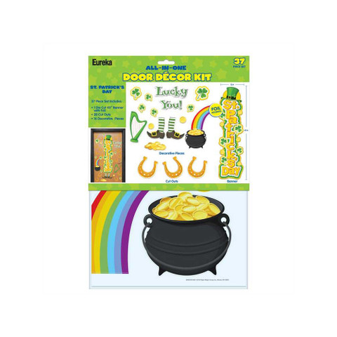 St. Patrick's Day All-In-One Door Decor Kit