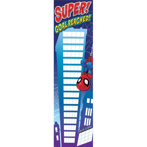 Marvel™ Super Hero Adventure-Goal Chart Vertical Banner