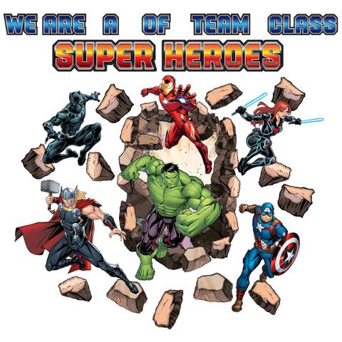 Marvel™ Bulletin Board Set