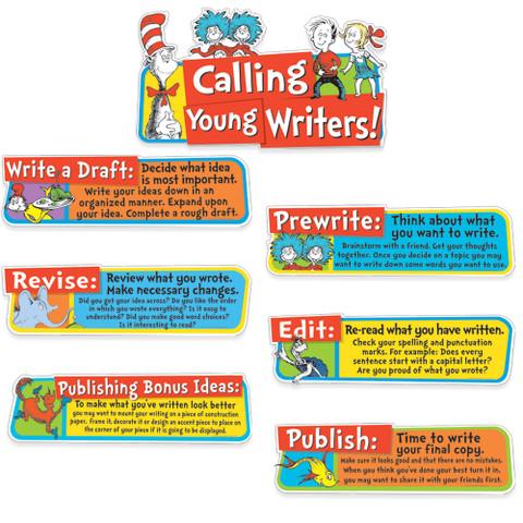 Dr. Seuss™ Writing Tips Mini Bulletin Board Set