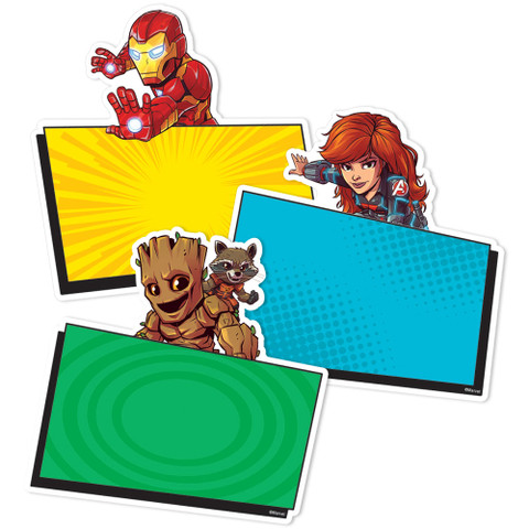 Marvel™ Super Hero Adventure Paper Cut Outs