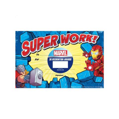 Marvel™ Super Hero Adventure Recognition Awards