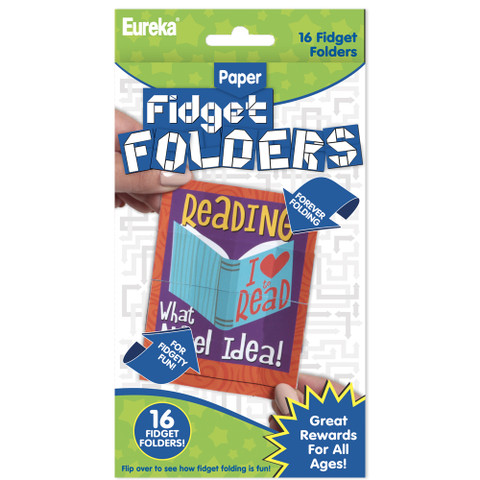 Reading Puns Fidget Folder