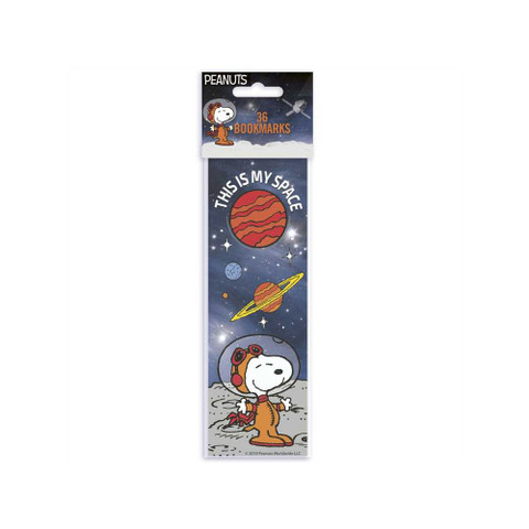 Peanuts® NASA This Is My Space Bookmarks