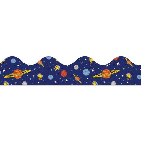 Peanuts® NASA Solar System Extra Wide Die Cut Deco Trim®