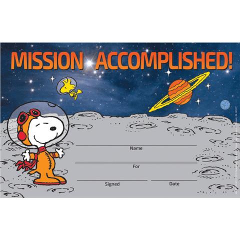 Peanuts® NASA Recognition Awards