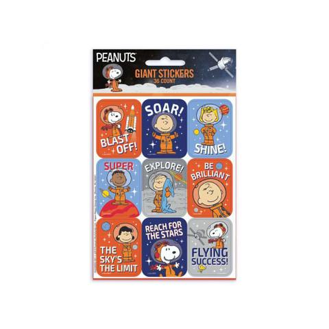Peanuts® NASA Giant Stickers