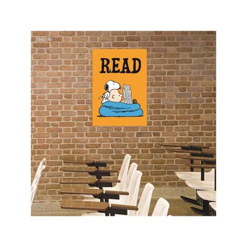 """Peanuts® READ Poster 13"""" x 19"""""""