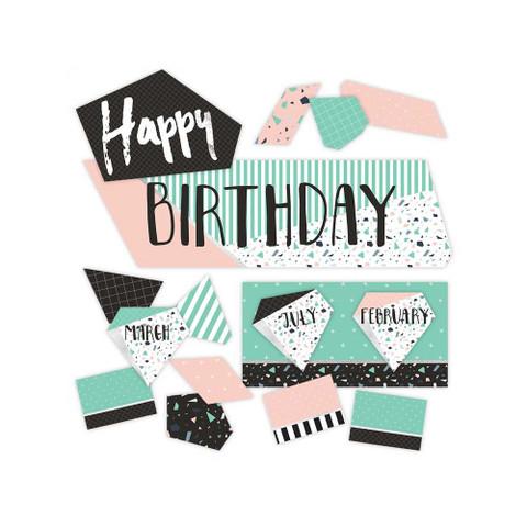 Simply Sassy Birthday Mini Bulletin Board Set