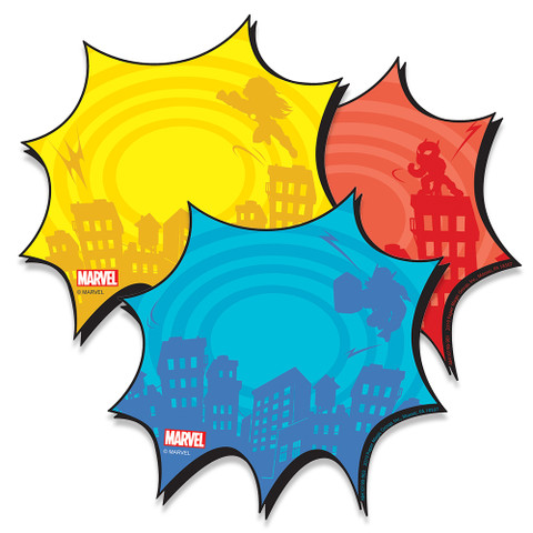 Marvel™ Bursts Paper Cut Outs