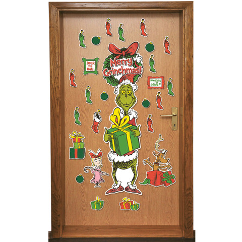 Dr. Seuss™ The Grinch All-In-One Door Decor Kit