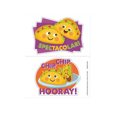 Jumbo Scented Stickers - Taco