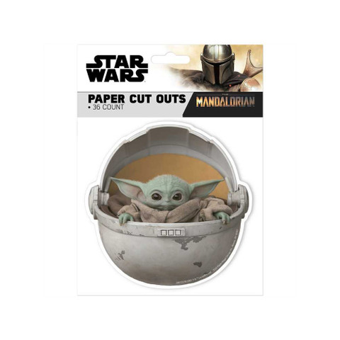 Star Wars™ The Mandalorian Paper Cut-Outs