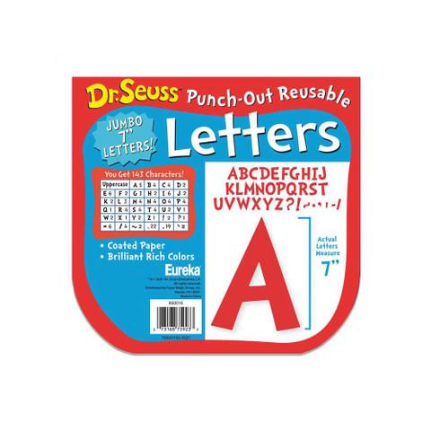 """Dr. Seuss™ Jumbo 7"""" Deco Letters"""