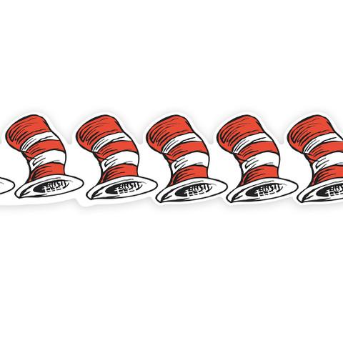 Cat in the Hat™ Die-Cut Deco Trim® Extra Wide