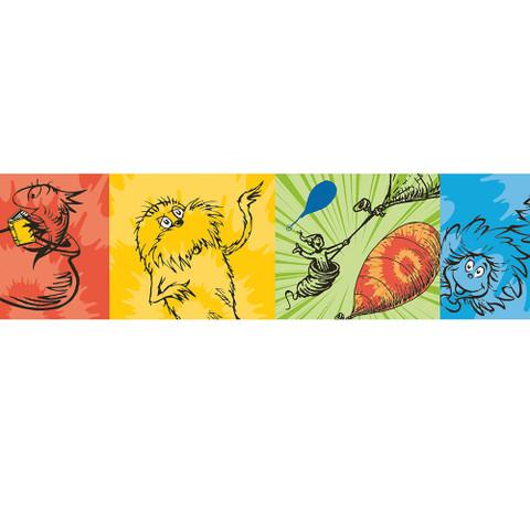 Dr. Seuss™ Tie-Dye Characters Deco Trim® Extra Wide
