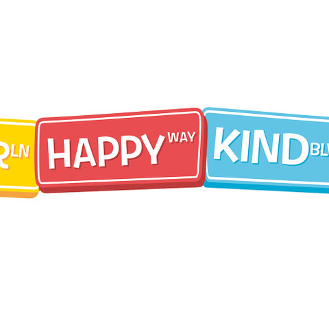 A Teachable Town Happy Street Signs Deco Trim® Extra Wide
