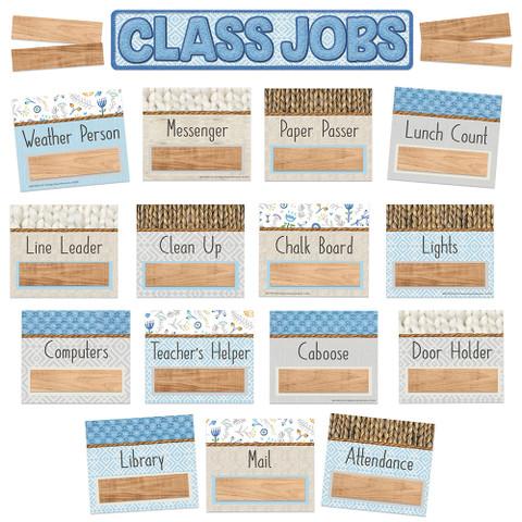 A Close-Knit Class Class Jobs Mini Bulletin Board Set