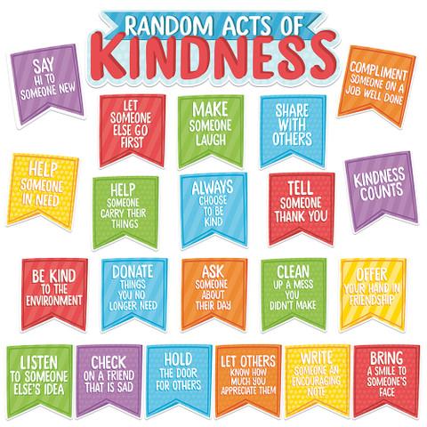 A Teachable Town Random Acts of Kindness Mini Bulletin Board Set