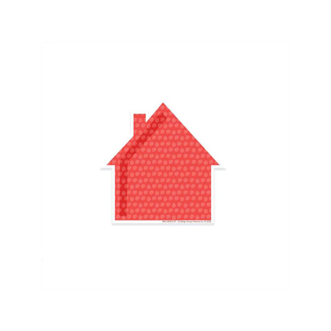 A Teachable Town Assorted Houses Paper Cut-Outs