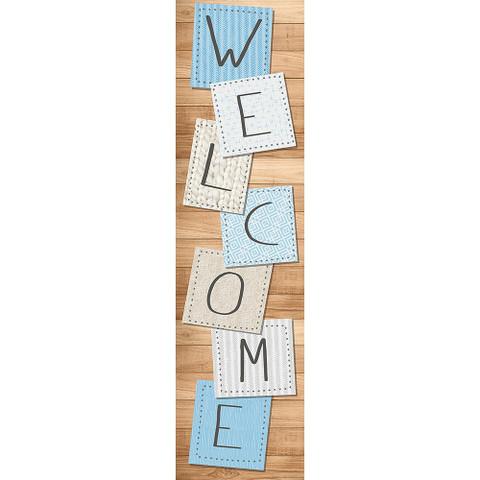 A Close-Knit Class Welcome Vertical Banner